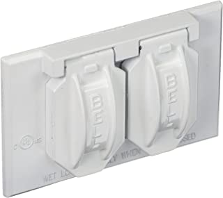 Amazon Com Electrical Outlet Covers Hubbell Outlet Covers Outlets Accessories Tools Home Improvement