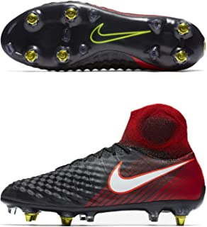 Magista Obra II SG Pro AC Black/RED Men's Sz 7.5 Soccer Cleats 869482 061