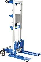 Vestil A-LIFT-S-HP Adjustable Straddle Hand Winch Lift Truck, 42-1/2