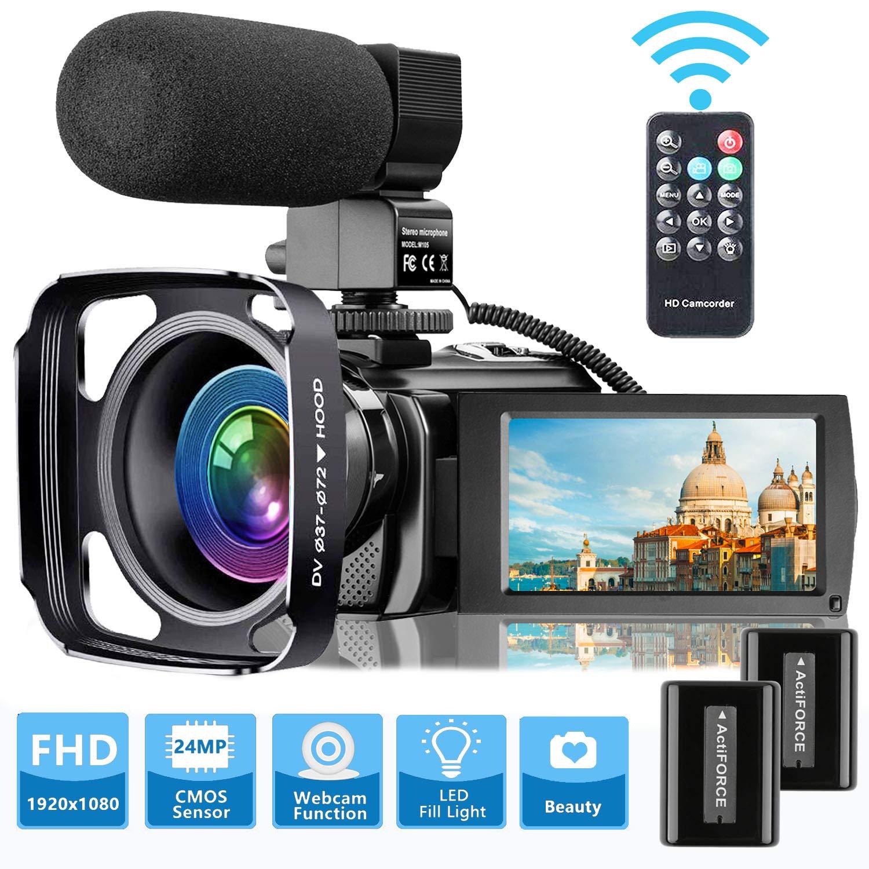 Camcorder Microphone VideoSky Vlogging Recorder
