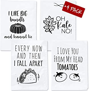 Funny Kitchen Towels - Housewarming Gifts New Home, Funny Housewarming Gifts, Kitchen Towel Sets, Housewarming Gifts New A...