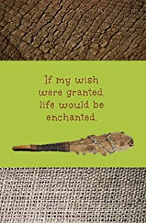 If My Wish were Granted, Life Would be Enchanted: Blank Journal and Musical Theme Gift
