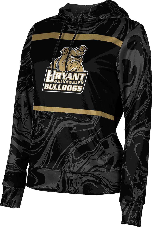 ProSphere Bryant University Girls' Pullover Hoodie, School Spirit Sweatshirt (Ripple)
