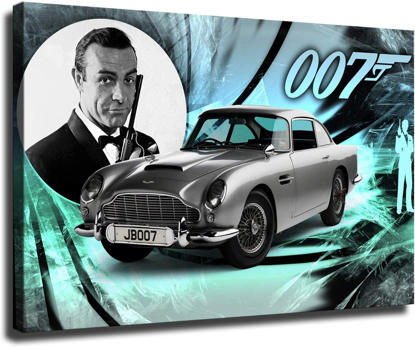 Details about  /B-203 New Sean Connery Classic Movie Poster Art Fabric 40 24x36