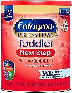 Enfagrow Premium Toddler Next Step Milk Drink Powder, Natural Milk Flavor 36.6 oz. (pack of 4) A1