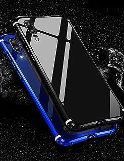 Huawei P20 Pro Case KumWum Metal Aluminum Bumper Case PC Back Cover for P20 pro (Huawei P20 Pro, Black)