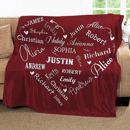 Red Truck Cozy Premium Sherpa Fleece Blanket//Velveteen Plush Blanket 30x40 50x60 To My Grandson Love From Nana Christmas 60x80