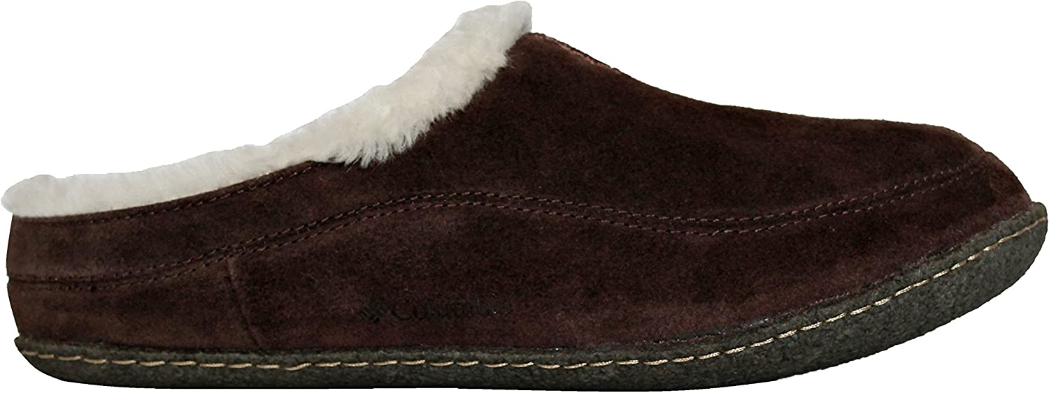Columbia Dunmore Hill Mens Faux-FUR Slippers (7)