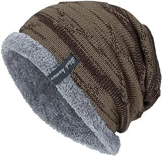 Lavany Women's Slouchy Hedging Head Hat Men Winter Knit Outdoor Warm Caps