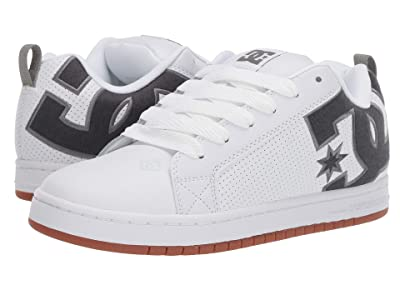 DC Court Graffik SE (White/Black/Light Grey) Men