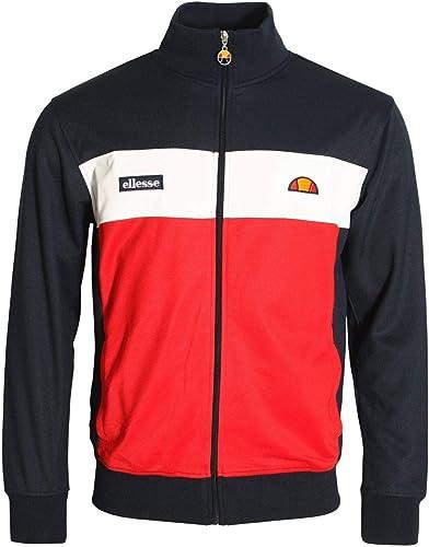 Ellesse Caprini Track veste   Navy rouge