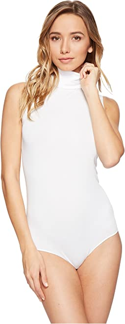 Wolford Viscose String Bodysuit - Turtleneck