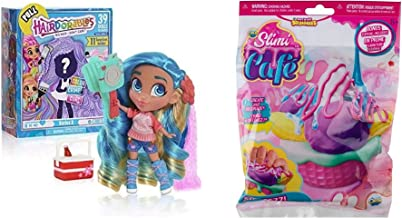 JGT Girls Kids Hairdorables Doll Series 3 (1) Orb Slimi Cafe Banana Split Starter Kit Soft Squishy Creations - Bundle of 2