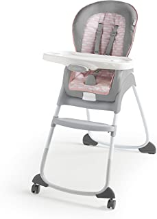 Ingenuity Trio 3-in-1 High Chair - Flora The Unicorn - High Chair, Toddler Chair, Booster
