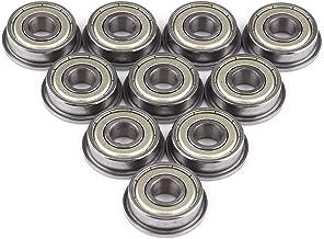 10pcs F608ZZ Mini cuscinetto a sfere doppio acciaio schermato con cuscinetti a sfera flangiati 8 * 22 * 7mm