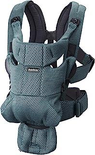 comprar comparacion BabyBjörn Mochila porta bebé Move, 3D Mesh, verde grisáceo