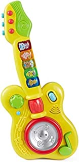 Popsugar Magic Guitar Music Toy with Sensitive Function (Yellow,TH2808)