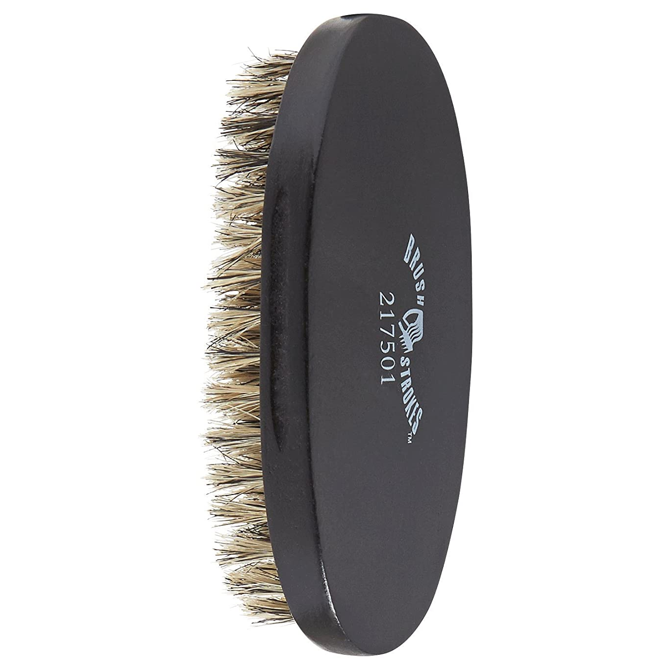 Brush Strokes Extra Soft Oval Military Brush