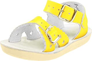 Salt Water Sandals Girls 2016 Sun-san - Sweetheart Yellow Size: 2 M US Big Kid