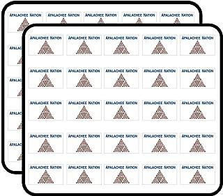 Apalachee Nation Flag (Logo Tribe Indian) Sticker for Scrapbooking, Calendars, Arts, Kids DIY Crafts, Album, Bullet Journals 50 Pack