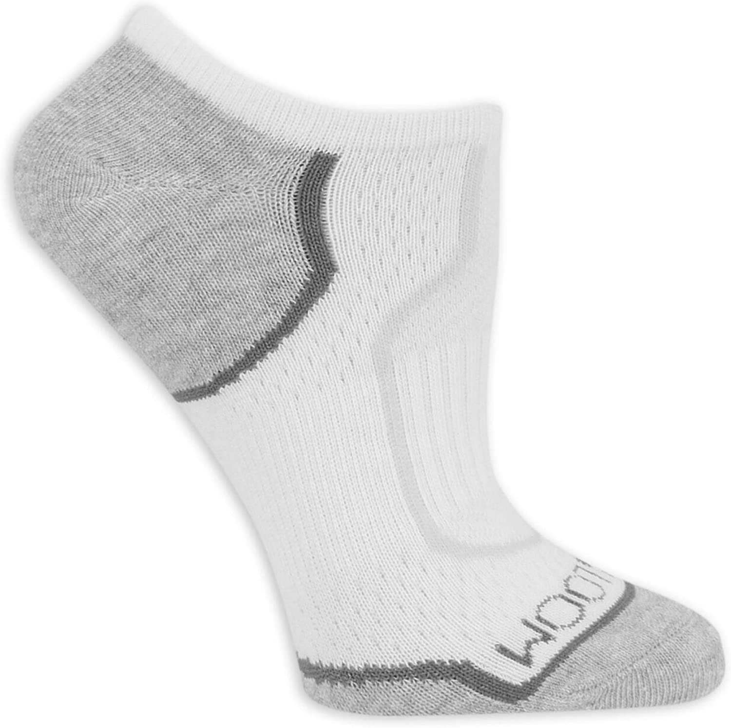 Fruit Of The Loom Womens 3 Pack On Her Feet No Show Socks