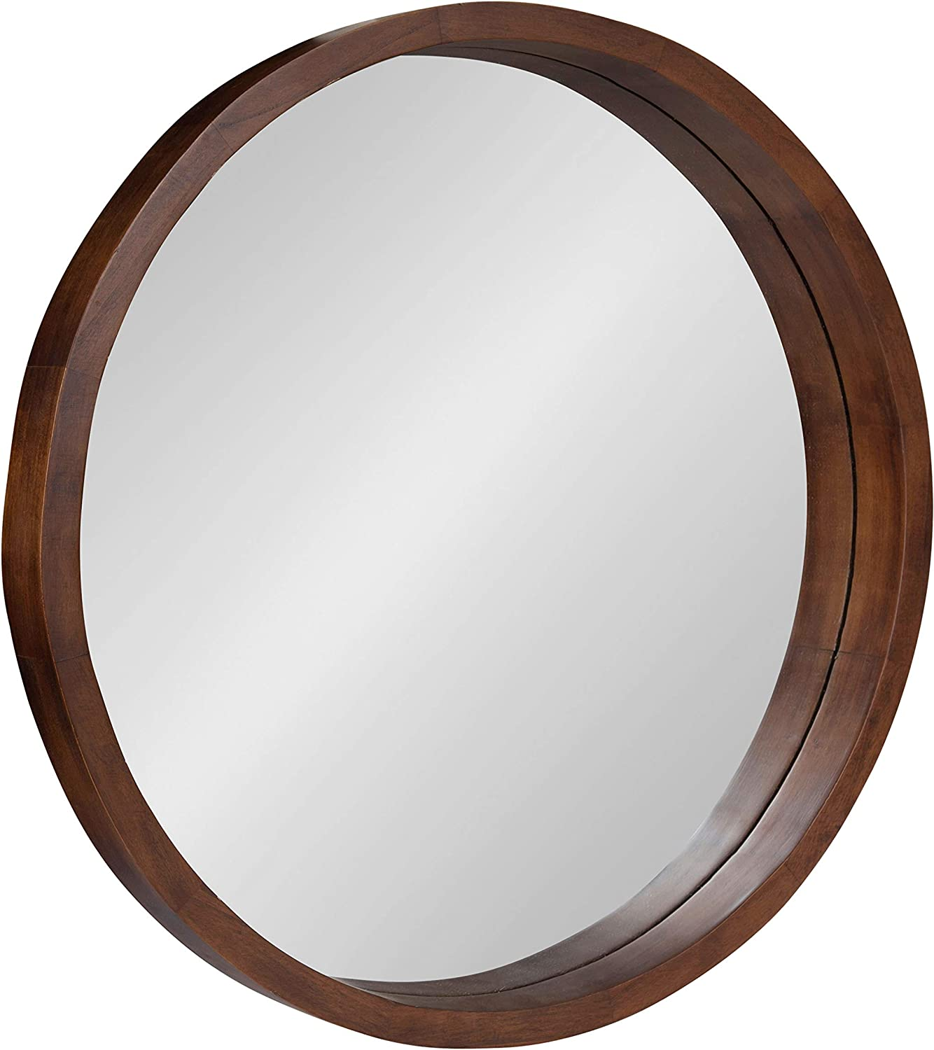 Kate and Laurel Hutton Round Decorative Same day shipping Wall Frame M New York Mall Modern Wood