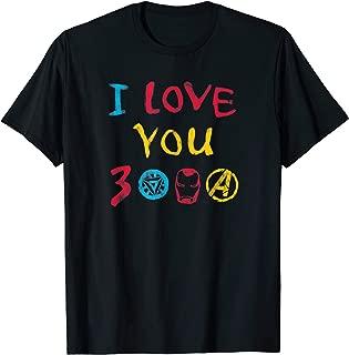 Avengers: Endgame I Love You 3000 Drawing T-Shirt