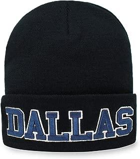 Classic Cuff Beanie Hat Black Cuffed Football Winter Skully Hat Knit Toque Cap