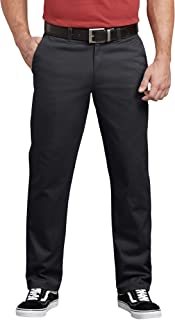 Dickies mens Flex Active Waist Washed Chino Pant - Regular Taper Fit Pants