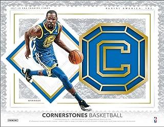 2017-18 Panini Cornerstones Basketball (1 Pack/6 Cards: 2 Autos, 1 Memorabilia)