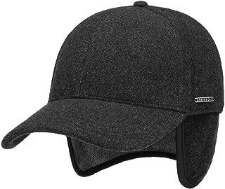Stetson Vaby Earflap Fullcap mit Kaschmir Herren - Schirmmütze mit Nackenschutz - Baseballmütze mit Ohrenschutz - Wollcap Herbst/Winter - Wintercap