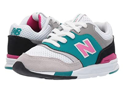 New Balance Kids 997H (Infant/Toddler) (Amazonite/Carnival) Kids Shoes