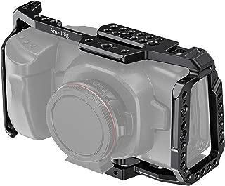 SMALLRIG BMPCC 4K & 6K Cage for Blackmagic Design Pocket Cinema Camera 4K & 6K w/Cold Shoe, NATO Rail – 2203