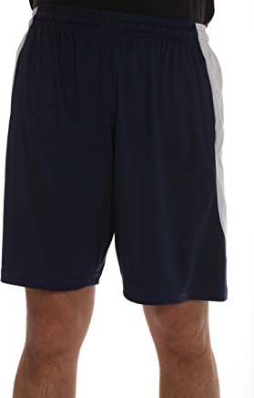 At The Buzzer Men's Active Athletic Basketball Shorts for Men with Pockets