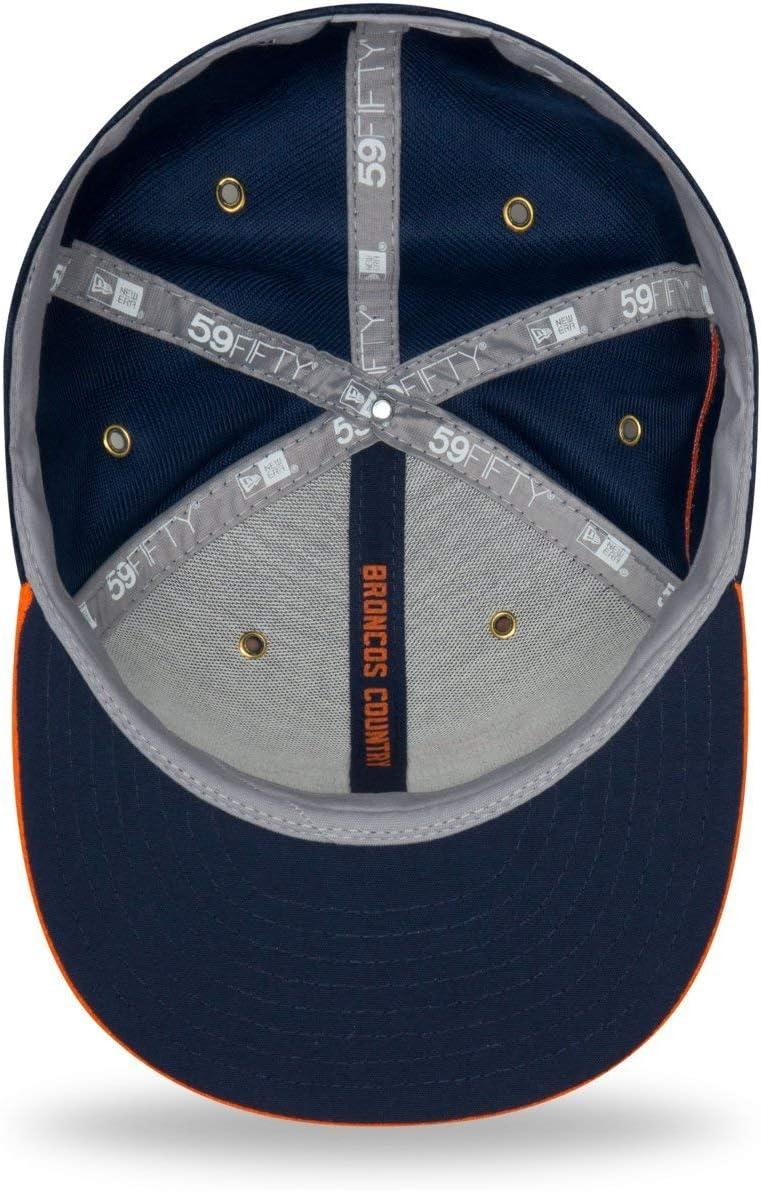 New Era 59Fifty Cap Sideline Home Denver Broncos