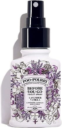 Poo-Pourri Before-You-Go Toilet Spray 2 oz Bottle, Lavender Vanilla Scent