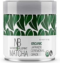 Matcha Green Tea Powder-Organic Japanese Ceremonial Grade Straight from Uji Kyoto, Premium Quality-1 oz Tin contains Powerful Antioxidant Energy for Non-GMO Health.