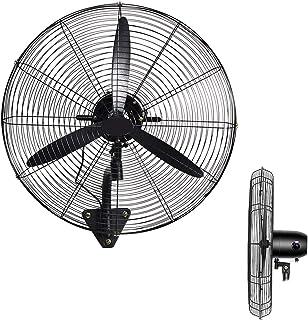XYNH Ventilador De Exterior con Soporte Pared,Ventiladores Industrial Fan,3 Velocidad del Viento Ajustable,con Función Oscilante,280W Ventilador Potente Pared
