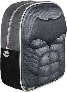 BATMAN 2100001411 Mochila 3D Batman, 31 x 25 x 10 cm, Negro