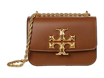 Tory Burch Eleanor Small Convertible Shoulder Bag (Moose) Handbags