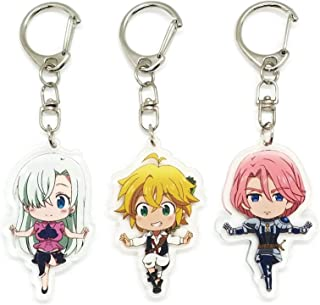 Amazon com: Anime - Keychains / Accessories: Clothing, Shoes
