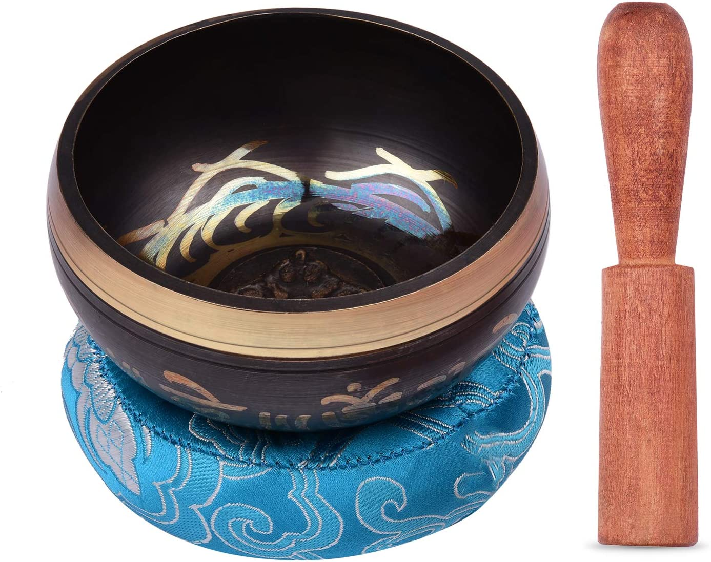 Department store Tibetan safety Singing Bowl Set with Sound Metal 3.3inch Handmade 8.5cm
