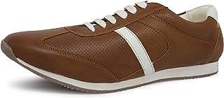 Marc Loire Men Casual Lace-Up Shoes, Faux Leather Sneakers - ML0075050140-P