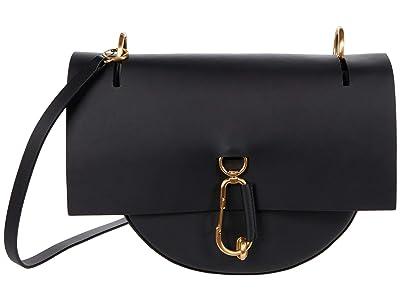 ZAC Zac Posen Belay Saddle (Black) Handbags