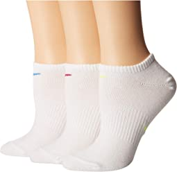 Everyday Lightweight No Show Training Socks 3-Pair Pack