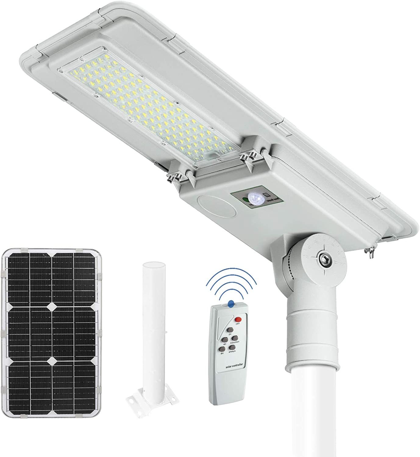 Minyuco discount Solar Street Lights Outdoor Light - At the price Control 100W P