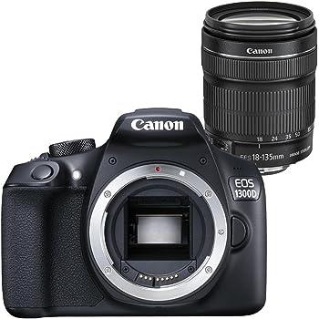 Canon EOS 1300D - Cámara Reflex de 18 MP (Pantalla de 3, Full HD ...