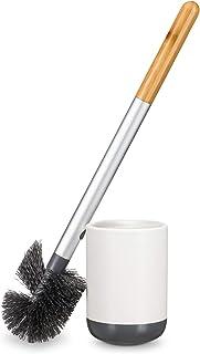 Full Circle Scrub Queen Toilet Brush, White/Grey, 28786