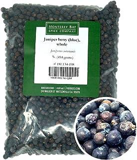 Monterey Bay Spice Company Whole Juniper Berries Bulk 1 lb.