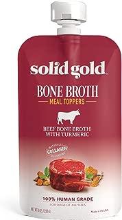 Solid Gold Turkey Bone Broth Dog Food Topper